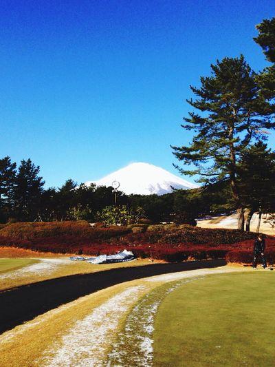 富士山 Golfing Taking Photos Mt.Fuji Fujiyama