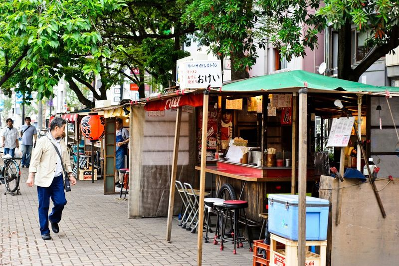 RePicture Travel Japan Foodstall Pushcart 屋台 Food Localdelicacy