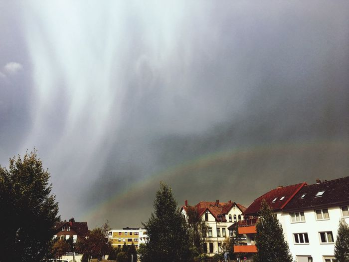 Cloud - Sky Rainbow Hameln Outdoors City Sky Virga Day