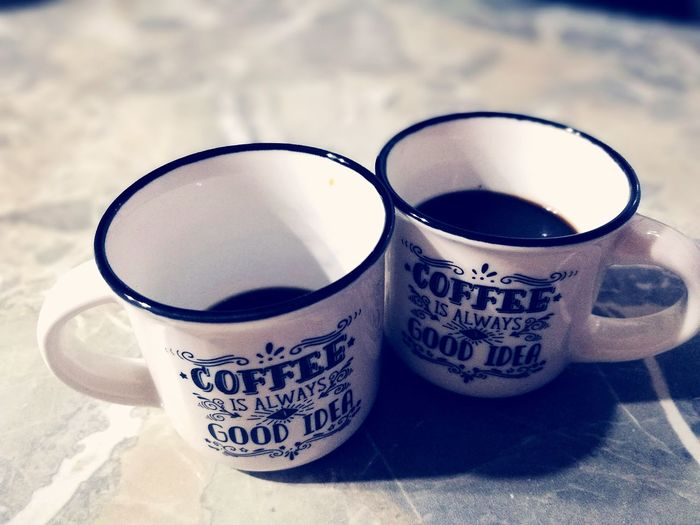 Drink Table Close-up Coffee Coffee Cup Coffelover Coffelove Coffee Time Coffee Break Coffee ☕ Coffee At Home Coffeeaddict Coffeelover