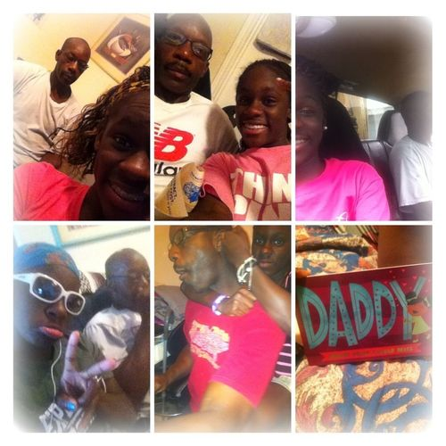 Happy Fathers Day To This Old Ugly Man , Lol . Love Youu Daddy