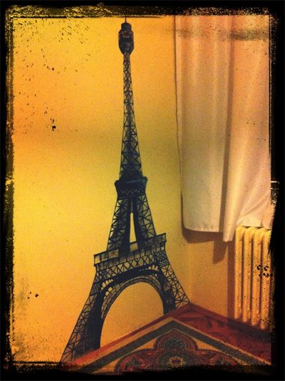 I Did This Eiffel Tower And It's On My Wall Enjoy