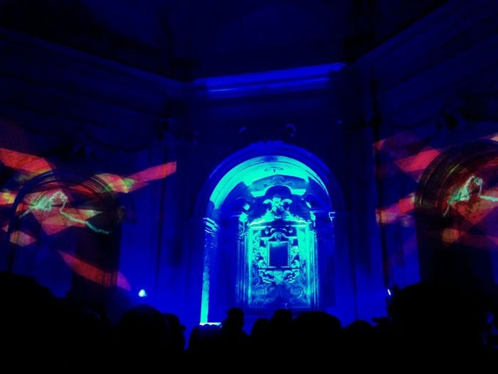 Deconsecrated Church Visual Art Music Esperimenti 2015 Italia Gaeta Vecchia