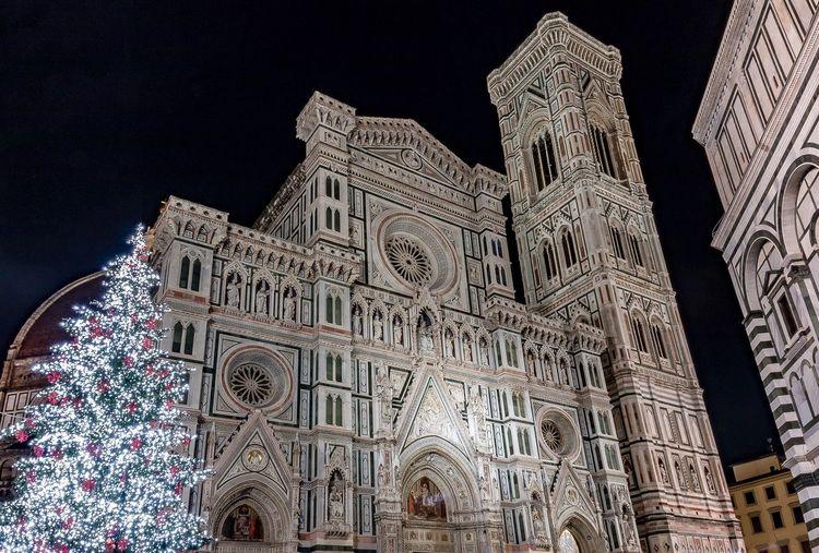 Florence, Italy Long Exposure Architecture Building Exterior Built Structure Religion Landmark Tourism Cityscape Spirituality Travel Destinations