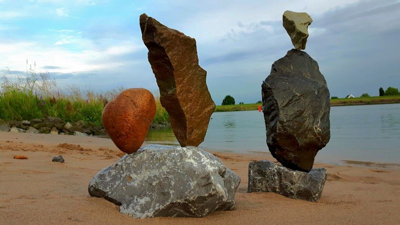 Rockstacking Rockbalancing Art Balancing Rocks Balancingact LandArt Stone Art Zen Rocks Rocks Rockbalancing Meditation Zen-art Zen