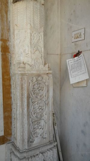 No People Close-up Indoors  Day Architecture History White Marble Marble Design Marble Art Small Beautiful Design Pillar White Marble Pillar Ancient Ancient History Architecture Pattern