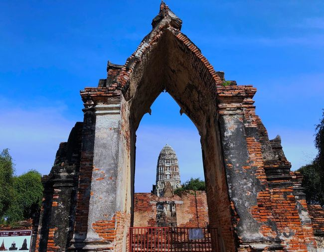 Architecture Built Structure Old Ruin History Arch Religion Building Exterior Ancient Civilization Spirituality The Past Low Angle View Ancient Sky