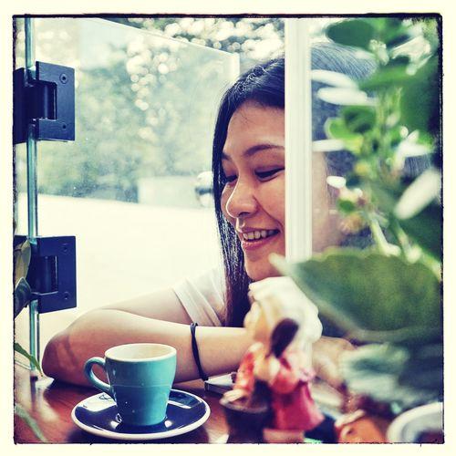 Portrait Color Portrait Beauty Coffee