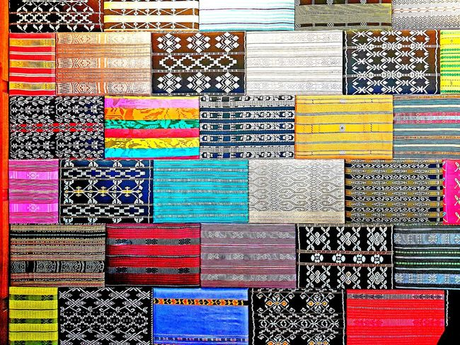 colorful ethnic woven cloth EyeEm EyeEm Gallery Cloth Ethnic Multi Colored Backgrounds Full Frame Seamless Pattern Pattern Variation Close-up Pixelated Repetition Colorful Display Collection For Sale Textured