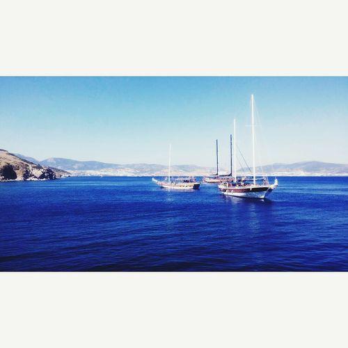 Bodrum Turkey Sea View FreeTime Hello World Summer2015 Ship