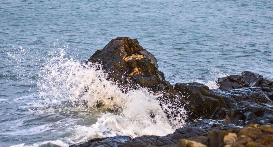 Water Rocks Sea