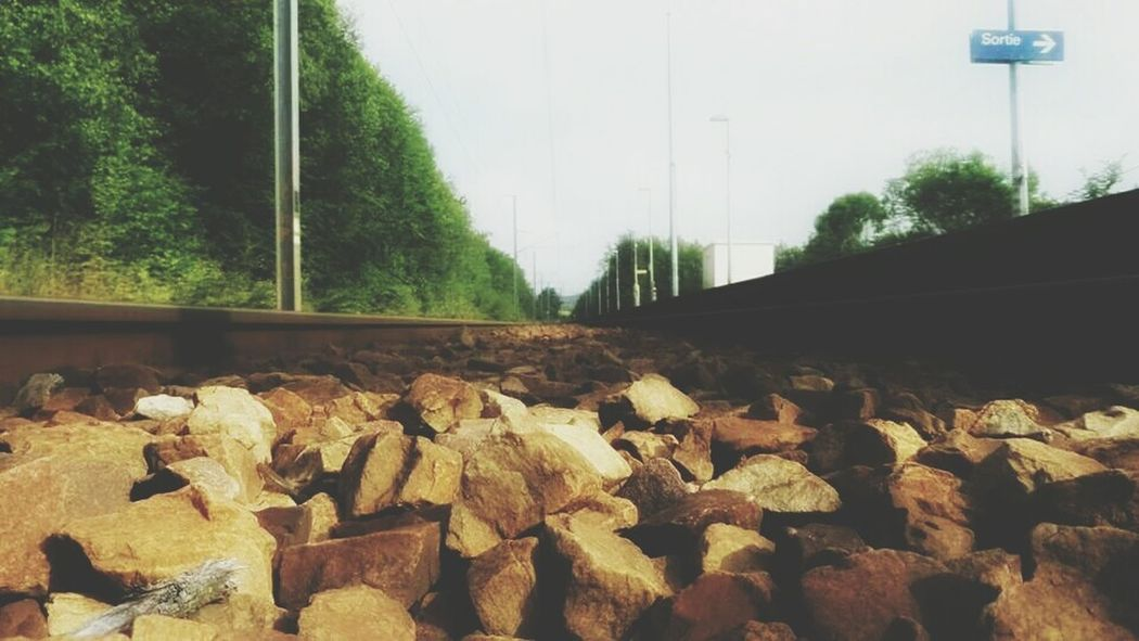 Paris To  Beauvais Train Interrail2014