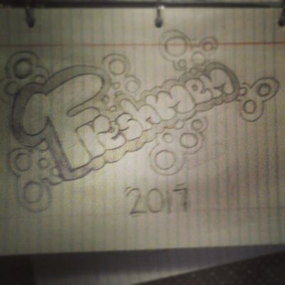 Drawing in spanish class.c: Drawing Freshmen 2017
