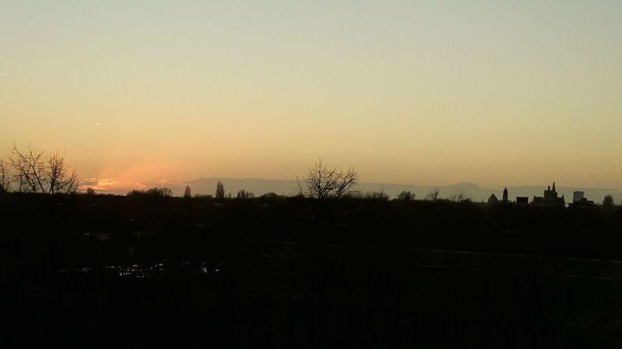 Sunset and the Skyline of s-Hertogenbosch Autumn Hello World Capturedmoment Sunset