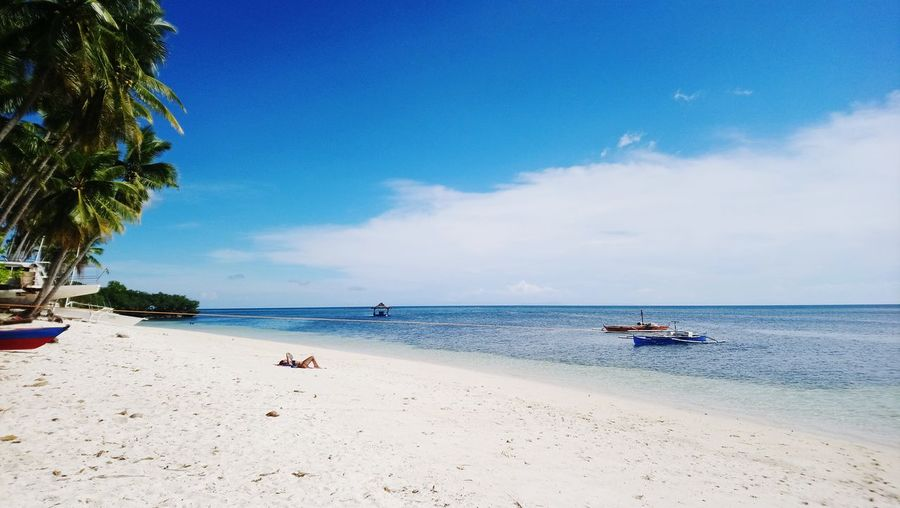 Island life Siquijorisland Siquijor, Philippines Philippines Visayas Beach Coconut Sea Sand Sky Blue Sky Salt Hot Day Sun Sunny Summer Tan Beauty In Nature Beautiful Island Islandlife