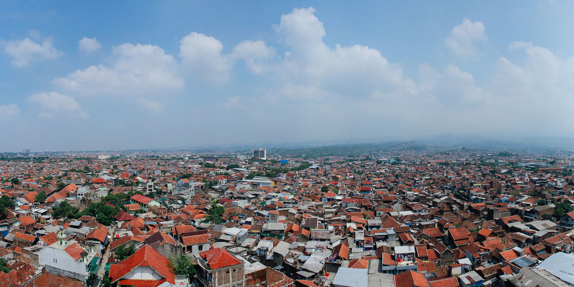 Kota Bandung Architecture City Life Architecture Arial Building Exterior Built Structure City Cityscape Cloud - Sky Community Crowded Day High Angle View Horizon Over Water Nature Outdoors People Residential Building Roof Sky Streetphotography Mobility In Mega Cities Colour Your Horizn