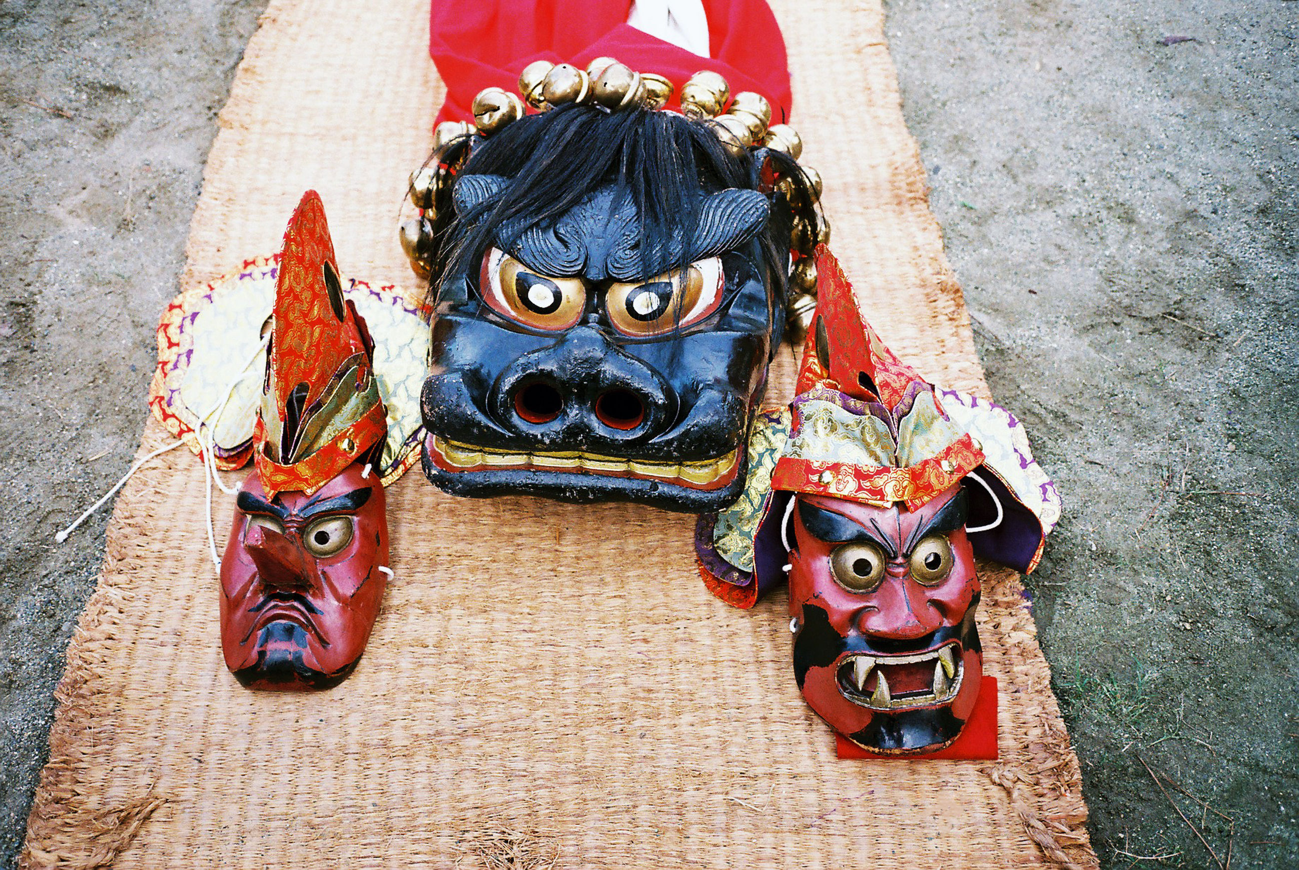 horror, disguise, mask - disguise, face guard - sport, no people, outdoors, venetian mask, day