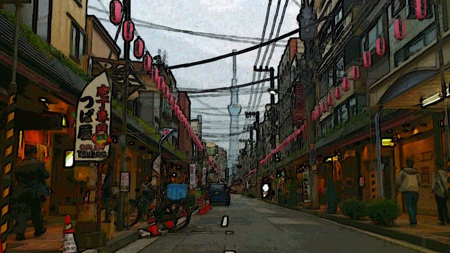 Street Photography Tokyo Skytree EyeEm Best Edits