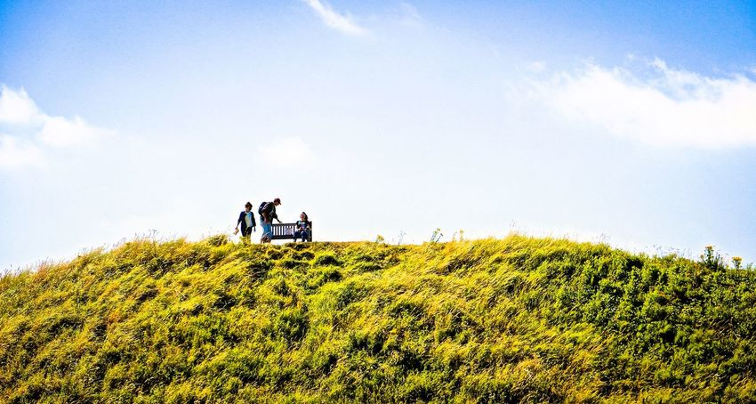 Adults Only Hill Landscape On A Hill Outdoors People Sky Togetherness