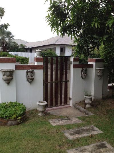 Door To Garden
