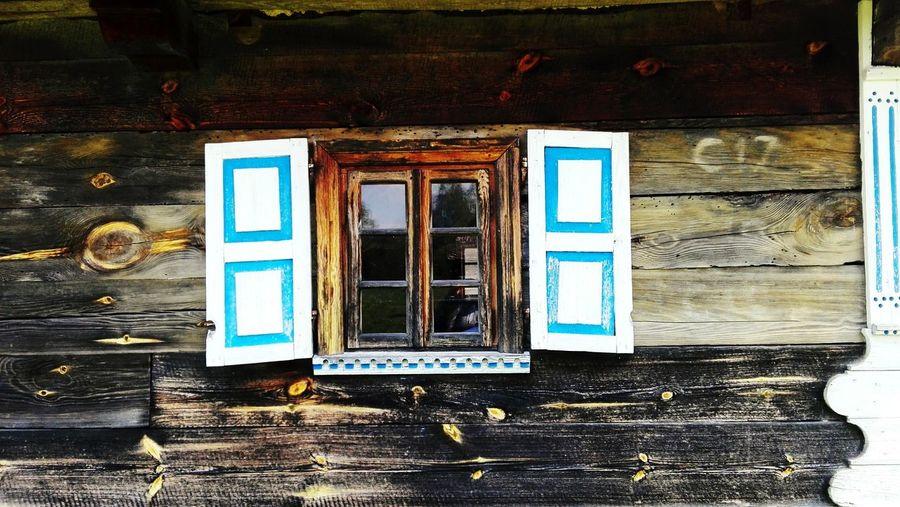 EyeEmNewHere Countryside Summertime Window Okiennice Białowieża Wood Old Oldbuilding