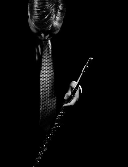 Reverence (end of the concert) Artist Artistic Photo Black And White Black Background Concert Curtsey Dark Mood End Concert Fine Art Flute Flute Player Hanging Out Illustration Low Light Modern Musician People Respect Reverence Singer