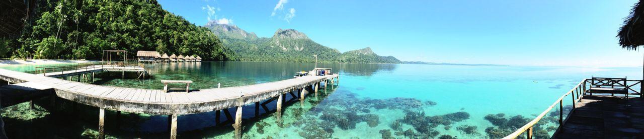 Beach Maluku  Tourism Indonesia Scenery INDONESIA Panorama