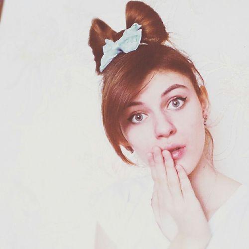 лол владимировка Retrica прическа Hairstyle бантик Russian Girl Россия Russia