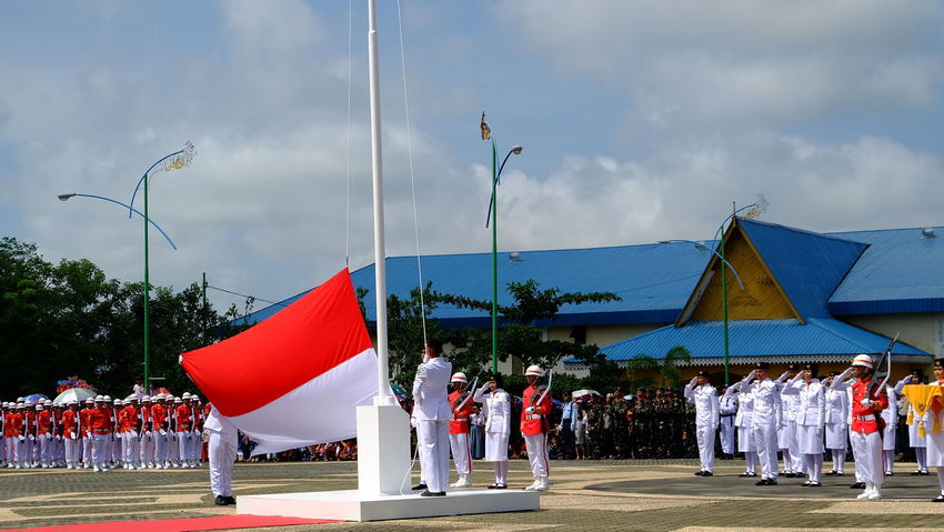 Indonesia Independence day Independence Day INDONESIA Redwhite Flag Hello World