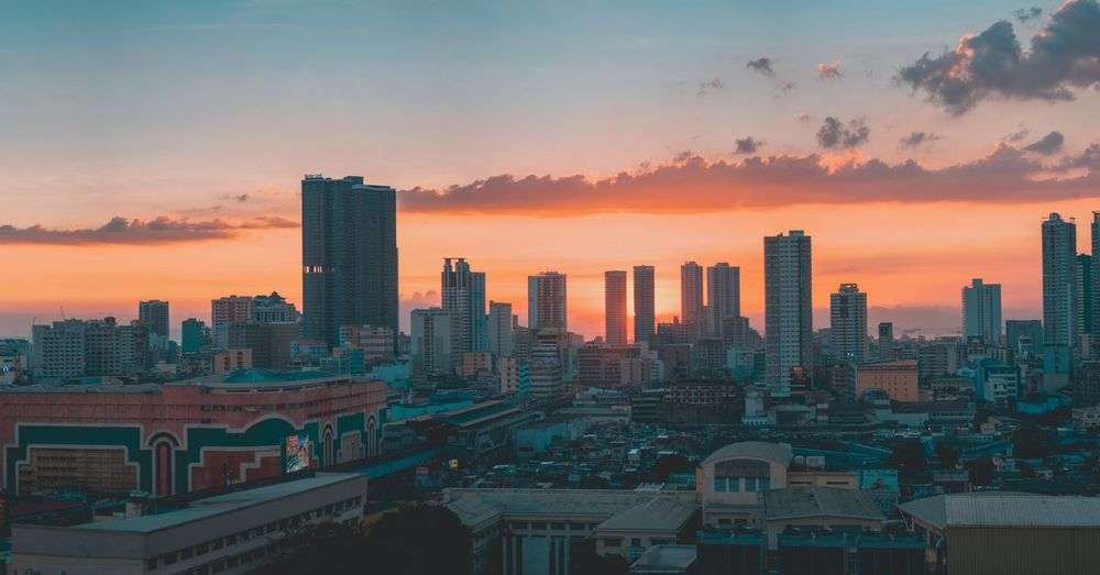 sunset in manila EyeEm Selects Skyscraper Urban Skyline Sunset Cityscape Downtown District Modern Architecture Sky City Cloud - Sky Night Illuminated No People Building Exterior Outdoors EyeEmNewHere Colour Your Horizn Mobility In Mega Cities
