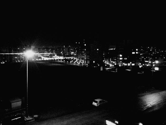 Dark Night Relaxing Enjoying Life Hello World