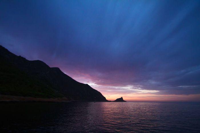 Sicily Marettimo Island Vacations Outdoors Sea Landscape Sunset