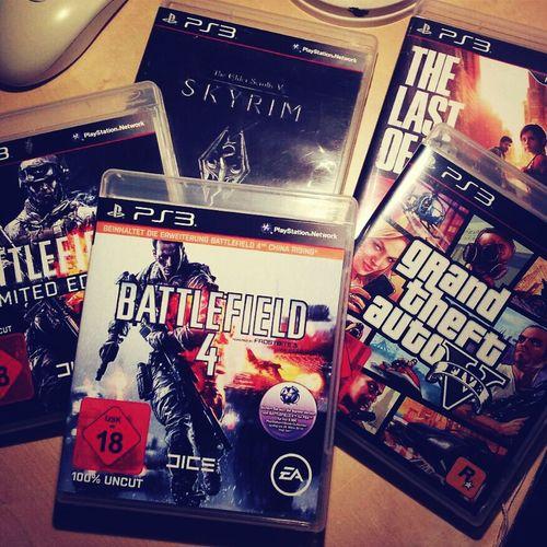 GTA V Battelfield Skyrim TheLastOfUs