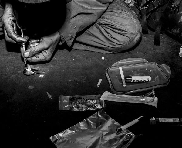 Edinburgh Scotland Canonphotography Fish-eye Lens Drug Drug Addict Addiction Heroin Heroin Addict EyeEmNewHere Full Frame Lseries 5d3 5dmkiii Drug Addiction Heroinaddict Hypodermic Needle Outdoors Night Adult The Week On EyeEm