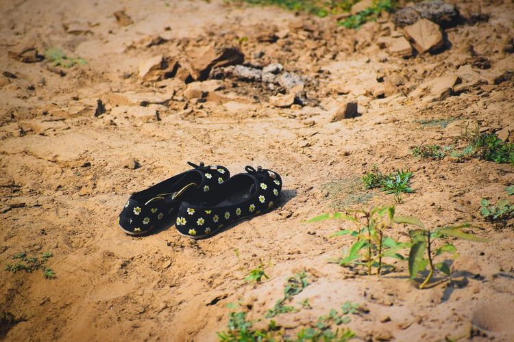 Shoe Girly Things  Sand Beach Close-up International Women's Day 2019