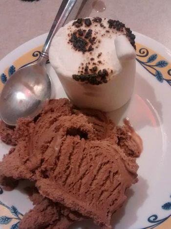 Toasted Marshmallow Foodporn Chocolate Ice Cream