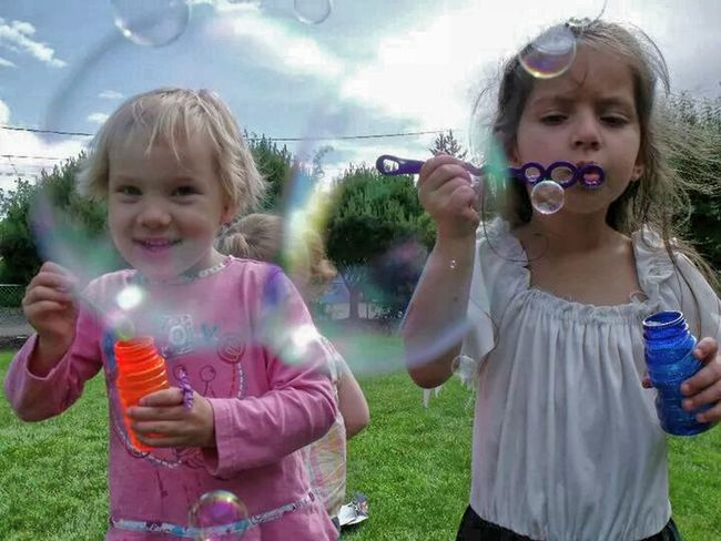 Bubbles! Kiddos Bubbles Summer Fun Bubble People And Places
