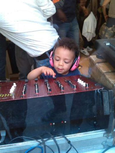 Dj Record Store Day Soho Stealing The Show Ear Defenders Indoors  People Toddler Boy