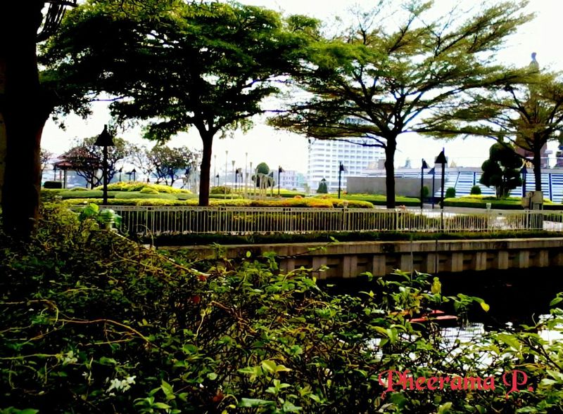 One in 1th park.:Rama8th park. Enjoying The Veiw  Landscape,. Architecture ,Enjoy The River, Silhouettes Of A City Thailand_allshots. ,
