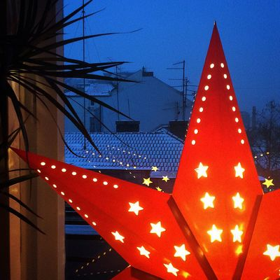Snow Snowing First Snow Beograd Belgrade Dorcol Serbia Sunday Morning