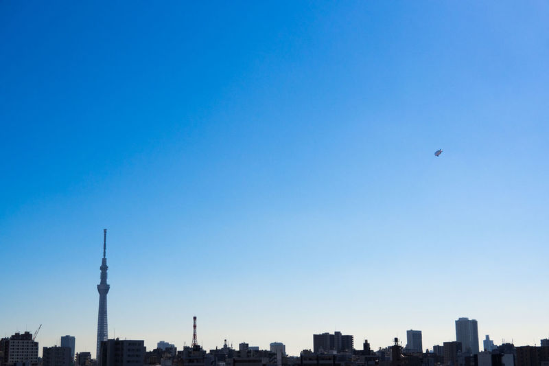 いまそら Airship Blimp Cityscapes Clear Sky Olympus Olympus Om-d E-m10 Sky Sky_collection Skyline Skyporn