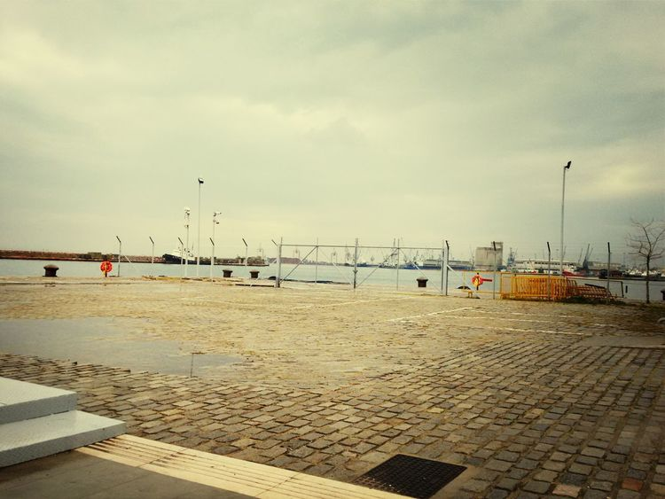 Thessaloniki Port  Clouds And Sky Limani
