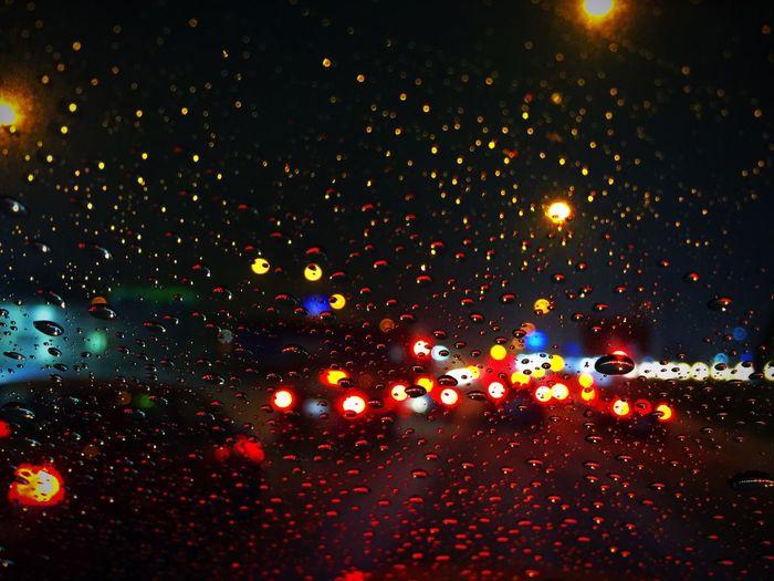 Railroad Lights Lights Night Lights Snow ❄ Snowing Nightphotography