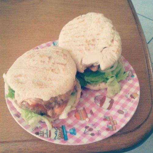 Lunch Hamburger Jammie