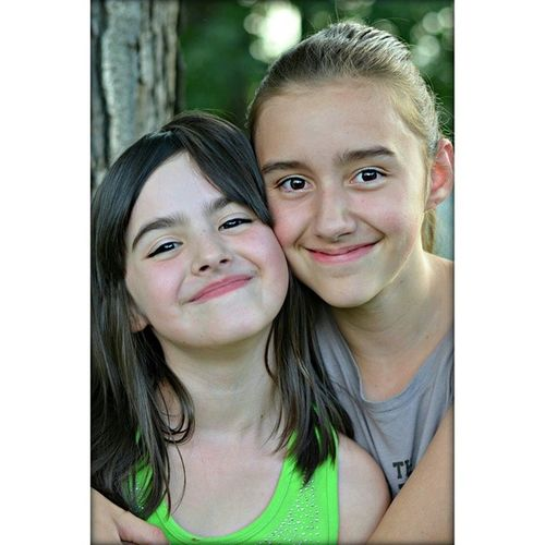 It's easy to practice shooting when beautiful girls like these two are your muses. Lovemynieces Sisters Sopretty
