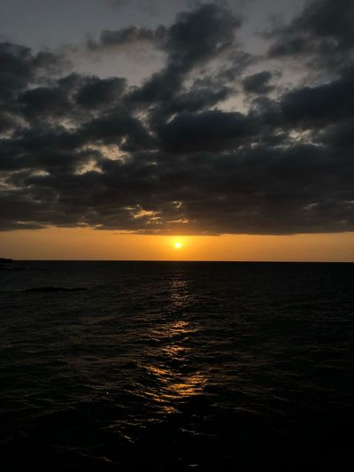 Rectangle Puertorico Puertoricotourism Sky Water Sea Sunset Cloud - Sky Scenics - Nature Beauty In Nature Horizon Over Water Nature Horizon Idyllic Orange Color Tranquility Land Non-urban Scene Tranquil Scene No People Dramatic Sky Sun Outdoors
