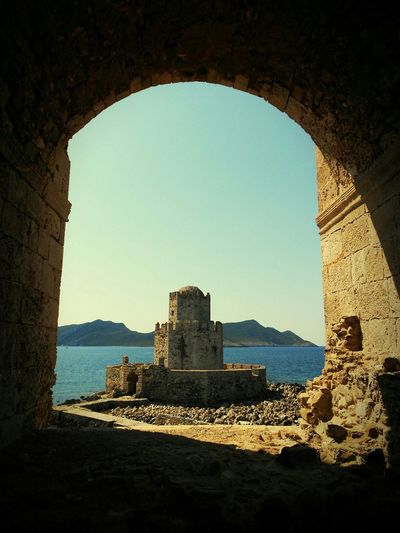 Methoni Greece Burj Old Castle