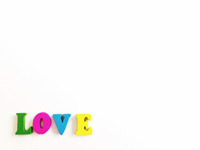 Inlove Wooden Letters Conceptual Concept Isolated Romanticism Romantic Love Variation Game Educational Game Educational Education Lettering Letters Writing Words Word Text Space For Text Copy Space Multi Colored White Background Text Capital Letter Communication Toy Block Alphabet Studio Shot Childhood