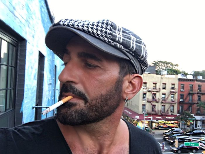 Robertoblasi Headshot One Person Beard Cigarette  Facial Hair Portrait Bad Habit Smoking Issues Smoking - Activity Real People Social Issues Men Activity Day Mid Adult Men Architecture Males
