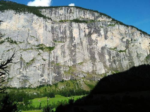 Rock - Object Nature Day Outdoors Mountain No People Cliff Beauty In Nature Scenics Sky Tree Close-up Alpessuisses Grass Landscape Switzerlandpictures Switzerland Switzerland Alps Mountain Range Alpes Mountain Peak Beauty In Nature Green Color